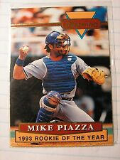 Mike Piazza 1994 Ultra Pro Dodgers 1993 MLB Rookie of the Year Card Limited 100k