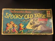 """1989 RARE The BERENSTAIN BEARS """"Spooky Old Tree Game"""" Board Game COMPLETE"""
