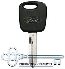 Ford Logo OEM PATS RFID Transponder Security Chip Key Blank H72PT 597602