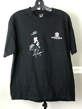 Alice Coopers Christmas Pudding 2009 T Shirt Sz L Black Tee Tour Bands