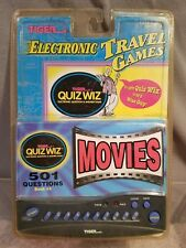 Quiz Wiz #4 Movies Question & Answer Tiger Handheld Electronic Travel Game