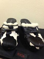 NINE WEST Slides Clogs Sandals Size 8.5 M