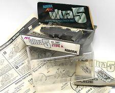 1977 Aurora AFX SpeedSteer Ultra5 CLAMSHELL BOX +GUIDE Fresh Factory Part