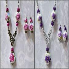 Alloy Porcelain Handcrafted Necklaces & Pendants