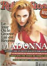 ROLLING STONE N°37 MADONNA / JOHNNY CASH / PETER JACKSON / GREEN DAY / DIAM'S