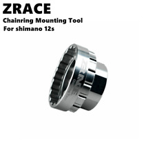 ZRACE Shimano 12s Chainring Mounting Tool for SM-CRM95 / SM-CRM85 / SM-CRM75, TL
