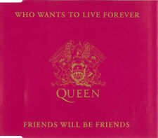 CD SINGLE Queen  Who Wants To Live Forever  Friends Will Be Friends 1992