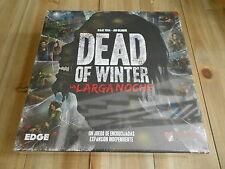 DEAD of WINTER: LA LARGA NOCHE - juego de mesa - Precintado - EDGE