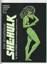 Marvel Graphic Novel #18 - The Sensational She-Hulk VF/NM 1985 Marvel Comics