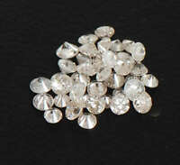 0.25CT Round Cut Natural White Loose Diamond Lot With Free Certificate