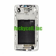 LG G3 D850 D851 D855 VS985 LS990 F 400 Mid Metal Chassis Plate Frame Bezel White