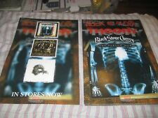 THEORY OF A DEADMAN-(the parlor mob)-1 POSTER-2 SIDED-11X17 INCHES-NMINT-RARE!