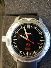 "Sinn EZM 2 HYDRO Dive Watch Rare ""3H"" Dial Serviced 11/17"