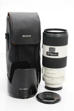 Sony G 70-200mm F2.8 SSM Lens A Mount SAL70200G #887