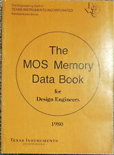 Used 1980 Texas Instruments Mos Memory Data Book