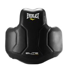 EVERLAST Elite Body Protector Boxing Kickboxing Body mitt Leather Black