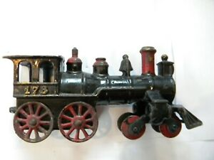 Kenton antique cast iron floor train No 178 locomotive 8 wheel
