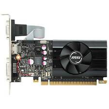 MSI NVIDIA GeForce GTX 710 2GB GDDR5 VGA/DVI/HDMI Low Profile pci-e Video