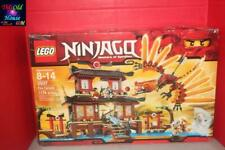 LEGO NINJAGO 2507 Fire Temple BOX ONLY NO OTHER ITEMS PRE-OWNED