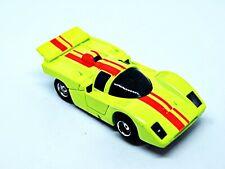 SUPERGLOW FERRARI -TRACK TESTED FAST- TYCO PRO  HO SLOT CAR AFX T-JET