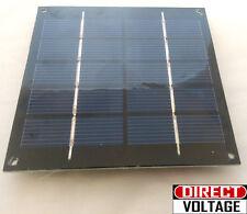1.25 Watts 6 Volts 250ma Solar Panel poly-crystalline