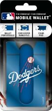 Baseball Dodgers Mlb Mobile Wallet 3-in-1 Use Cell Phone Stand Cord Wrapper
