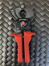 H.K. Porter Cable 5090Fs Ratchet Type Cable Cutter new