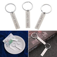 I Love You 3000 Unique Keychain Key Ring Gift for Lovers Couples Wife Girlfriend
