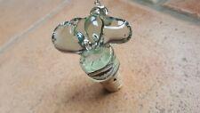 Bouchon de bouteille en verre motif taureau fabrication artisanale