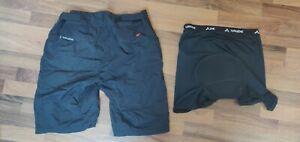 Vaude Tamaro Radhose Herren Men's Tamaro Shorts Gr. 52/L mit Innenhose