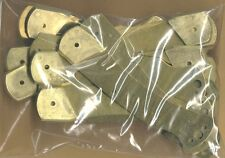 LOT of 10 LARGE SCHRADE GOLDEN BEAR POCKET KNIFE BRASS GRIPS *PARTS REPAIR *NY