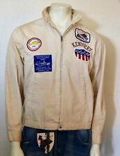 Dan Rivers vintage Kentucky 1960s canoe club distressed jacket M