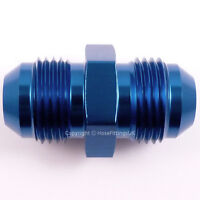 AN-8 (3/4x16 UNF) JIC Flare STRAIGHT MALE UNION Braided Hose Fitting Adapter