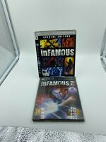 inFamous 1 & 2 Special Edition Sony PlayStation 3 PS3 PAL Complete