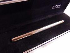 Stylo-plume stylo à plume AURORA argent massif 925 Fontaine Pen argent