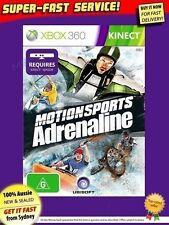 Motionsports Adrenaline Xbox 360 Kinect NEW AUSSIE GAME! PAL version from SYDNEY