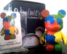 """DISNEY VINYLMATION 3"""" URBAN SERIES 2 PATCHWORK MICKEY MOUSE QUILT STITCH PATCHES"""