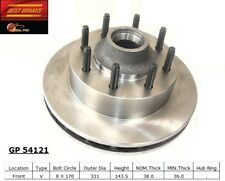 Disc Brake Rotor-RWD Front Best Brake GP54121