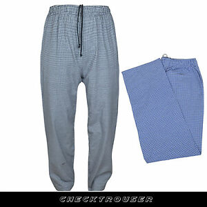 Chef Trousers Exclusive Quality Pant Unisex with 3 Pockets Gingham Check Trouser