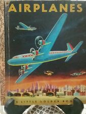 AIRPLANES Little Golden Book 1973 Edition (Hardcover) G/C
