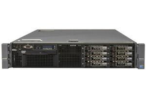 Dell Poweredge R710 2x 6-Core x5675 2.66GHz 32GB RAM 2x 300GB HD DVD