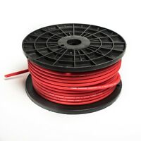 5 METRE 8 AWG OFC OVERSIZED 10MM² 8 GAUGE RED POWER CABLE 5M HIGH QUALITY WIRE