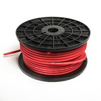 5 METRE 8 AWG CCA OVERSIZED 10MM² 8 GAUGE RED POWER CABLE 5M HIGH QUALITY WIRE