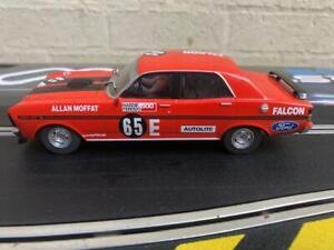 Scalextric C3872 Ford Falcon XW/XY GT-HO, Allan Moffat 5000c 1:32 Scale Slot Car