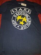 Resident evil Stars t shirt BRAND NEW size Medium SHIP FAST UNI SEX !  RE