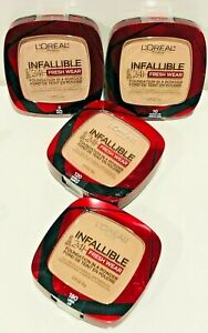LOREAL INFALLIBLE 24H FRESH WEAR FOUNDATION IN A POWDER CHOOSE COLOR