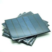 5pcs 6V 0.6A 3.5W Mini Solar Panels Small Solar Power 3.6v Battery Charge Solar