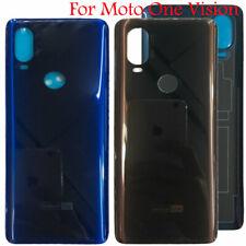 New Glass Battery Cover Back Panel Housing For Motorola Moto One Vision P50