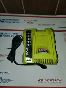 Ryobi OP401 40 Volt Lithium-Ion Battery Charger