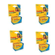 4 Rolls Kodak GC 400 24 Exp. Ultramax Color Print 35mm Film